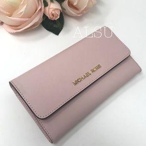 Michael Kors Tri Folder Wallet Large Blossom W